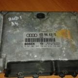 AUDI A4 1.9 TDI 81kw RJ MOTORA 038906018FD 0281001966