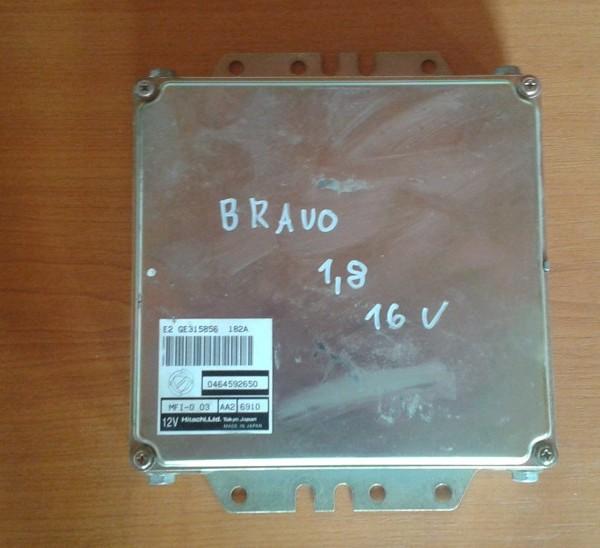 FIAT BRAVO 1.8 16V RJ MOTORA 0464592650