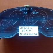 OPEL ASTRA G 1.6 16V PANEL PRISTROJOV 24459708TW