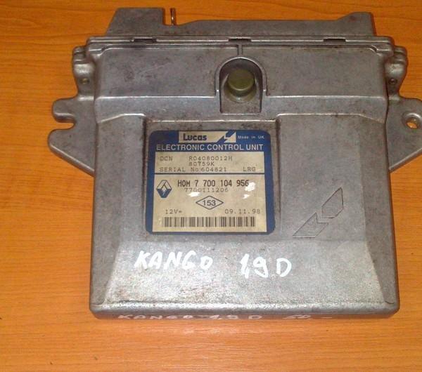 RENAULT KANGO 1.9D RJ MOTORA 7 700 104 956  7700104956