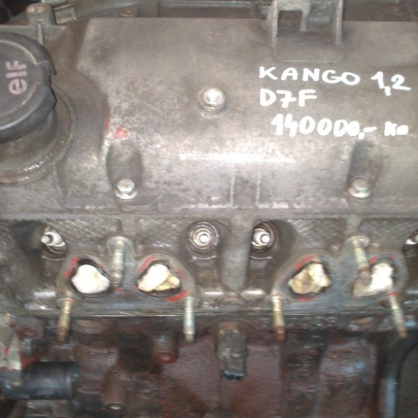 RENAULT KANGO MOTOR 1.2 8V KOD D7F